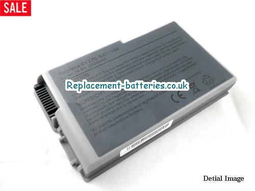 14.8V DELL LATITUDE D505 Battery 2200mAh