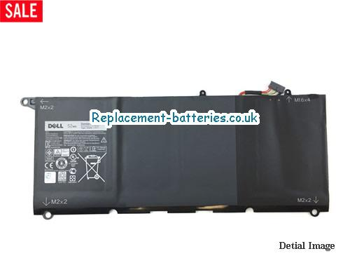 7.4V DELL XPS 13 9343 Battery 52Wh