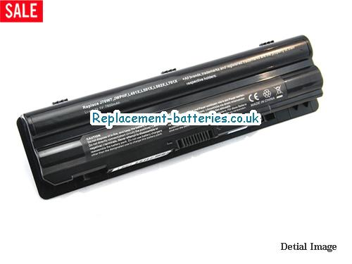 J70W7 Battery, 11.1V DELL J70W7 Battery 7800mAh