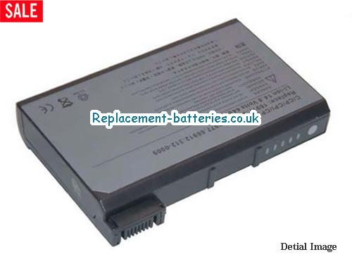 14.8V DELL LATITUDE CPI A366XT Battery 5200mAh