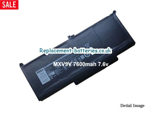 MXV9V Battery 60Wh 7500mAh  For Dell Laptop Li-Polymer in United Kingdom and Ireland