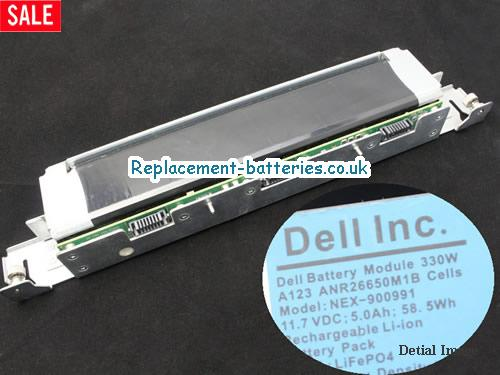 11.7V DELL NX3610 Battery 58.5Wh, 5Ah