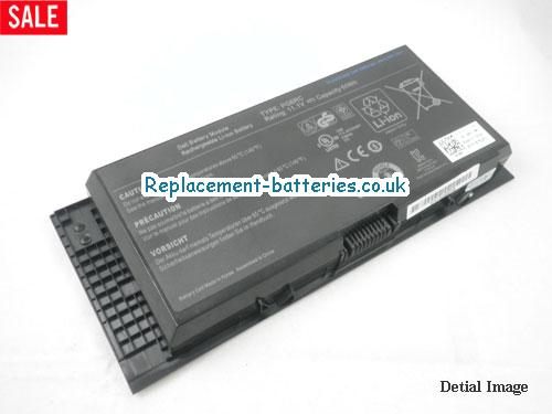 K4CP5 Battery, 11.1V DELL K4CP5 Battery 60Wh