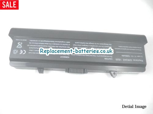 HP287 Battery, 11.1V DELL HP287 Battery 7800mAh