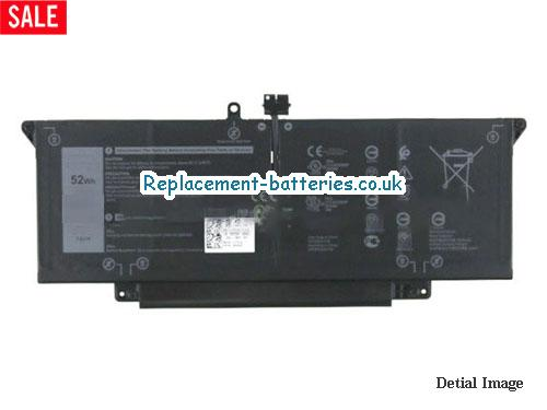 Replacement T3JWC Battery For Dell 7CXN6 Li-Polymer 7.6v 52Wh in United Kingdom and Ireland