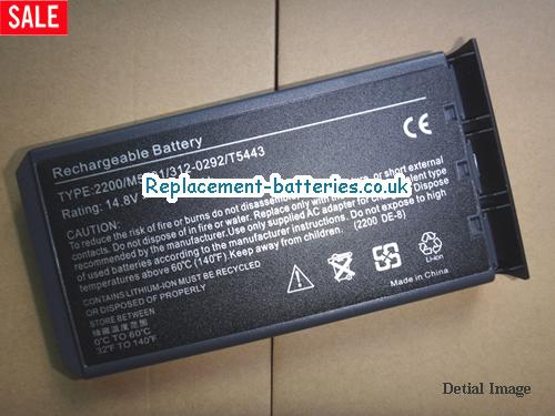 P5413 Battery, 14.8V DELL P5413 Battery 5200mAh