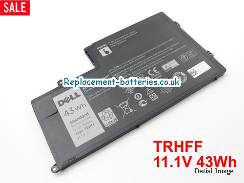 DELL TRHFF 1V2F6 DL011307-PRR13G01 Laptop Battery 43Wh 11.1V in United Kingdom and Ireland