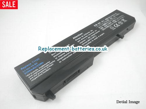 0K738H Battery, 14.8V DELL 0K738H Battery 2200mAh
