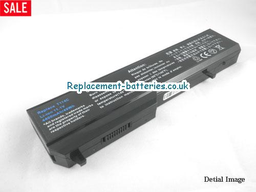 0K738H Battery, 11.1V DELL 0K738H Battery 5200mAh