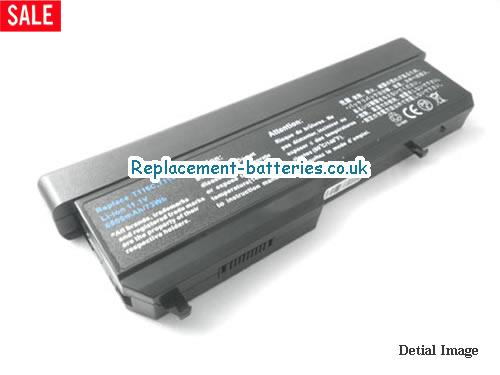 Y025C Battery, 11.1V DELL Y025C Battery 7800mAh