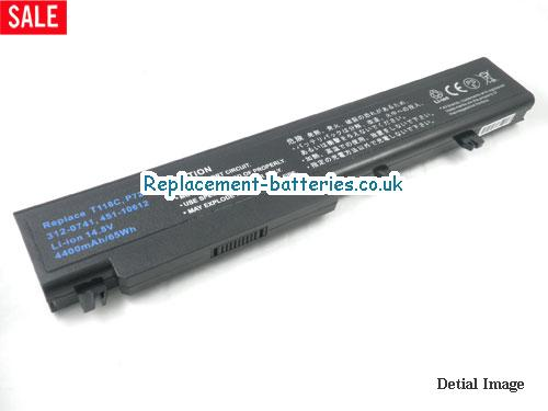 Y029C Battery, 14.8V DELL Y029C Battery 4400mAh