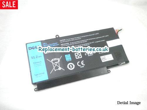 Genuine DELL VH748 battery for Dell Vostro 5460 5470 5560 V5460-2626 51.2Wh 11.4V in United Kingdom and Ireland