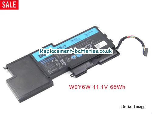 11.1V DELL XPS 15-L521X Battery 65Wh