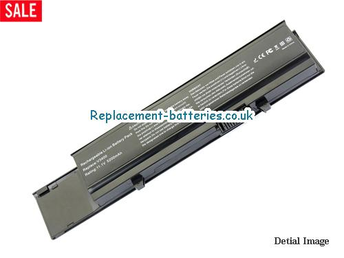 0TY3P4 Battery, 11.1V DELL 0TY3P4 Battery 5200mAh