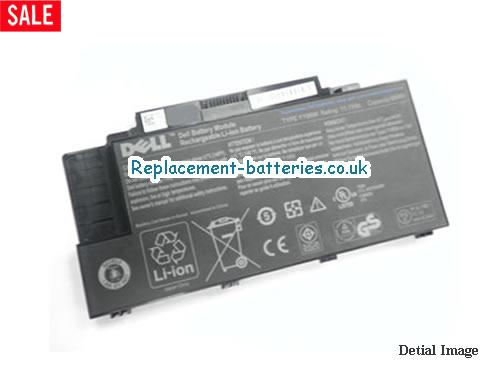 11.1V DELL DELL STUDIO 15Z SERIES Battery 66Wh