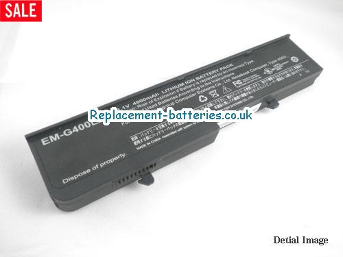 11.1V ECS G400 SERIES Battery 4800mAh