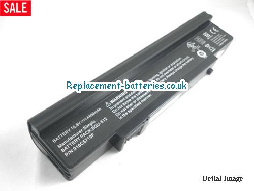 SQU-512 Battery, 10.8V DELL SQU-512 Battery 4400mAh