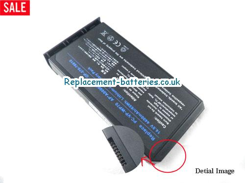 UK 4400mAh, 65Wh  Long life laptop battery for Fujitsu-siemens S26391-F6051-L200, Amilo Pro V2010,