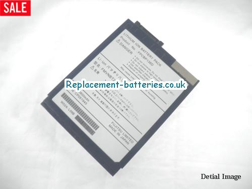 10.8V FUJITSU FUJITSU LIFEBOOK SERIES Battery 3800mAh