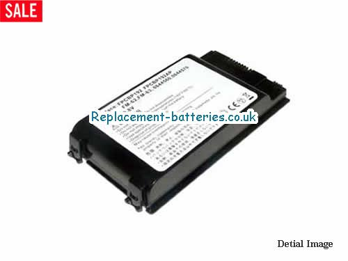 Fujitsu FPCBP192AP, FPCBP192, Lifebook V1010, LifeBook A1130, LifeBook A1110, FMV-A8250 Replacement Laptop Battery in United Kingdom and Ireland