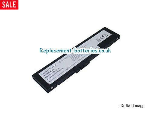 Fujitsu FPCBP147, FPCBP147AP, FMVNBP151, LifeBook Q2010, FMV-Q8240 Replacement Laptop Battery in United Kingdom and Ireland