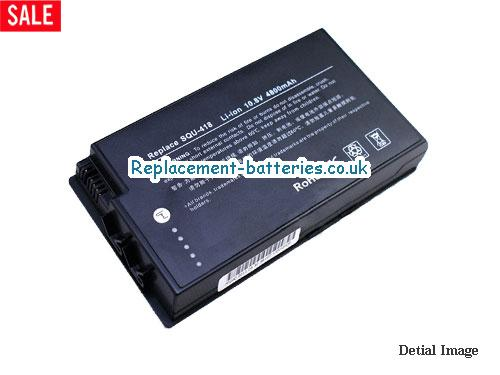 SQU-534 Battery, 10.8V FUJITSU SQU-534 Battery 4800mAh