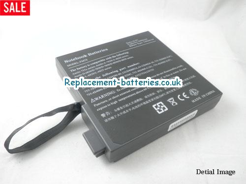 10.8V GERICOM HUMMER 2430E XL Battery 4000mAh