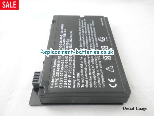 3S4400-C1S5-07 Battery, 10.8V FUJITSU 3S4400-C1S5-07 Battery 4400mAh