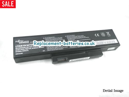 Fujitsu-Siemens ESPRIMO Mobile V5515, V5535, SMP-EFS-SS-20C-04, FOX-EFS-SA-XXF-04 Battery in United Kingdom and Ireland