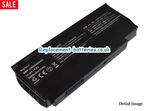 Fujitsu-Siemens Amilo Mini Ui 3520, SMP-CWXXXPSA4, LifeBook M1010 Replacement Laptop Battery in United Kingdom and Ireland