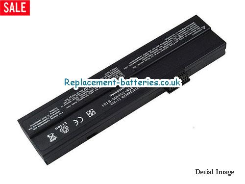 255-3S6600-F1P1 Battery, 11.1V FUJITSU 255-3S6600-F1P1 Battery 6600mAh