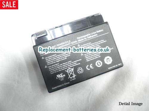 A41-4S2200-C1H1 Battery, 10.8V HASEE A41-4S2200-C1H1 Battery 4400mAh, 47.52Wh