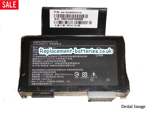 441819800010 Battery, 3.7V GETAC 441819800010 Battery 5600mAh, 21Wh