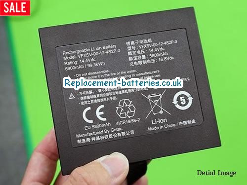 Genine Getac VFXSV-00-12-4S2P-0 Battery For Dosupara VR PC GALLERIA VR WEAR in United Kingdom and Ireland