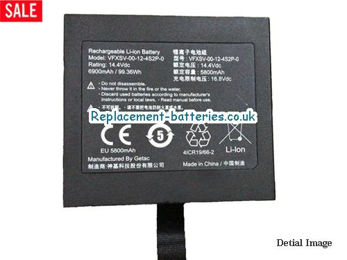 VFXSV-00-12-4S2P-0 Battery For Getac Laptop in United Kingdom and Ireland