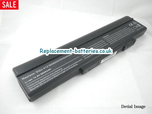 14.8V GATEWAY S-7320M Battery 6600mAh