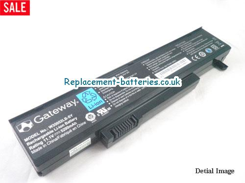 11.1V GATEWAY T-6829 Battery 5200mAh