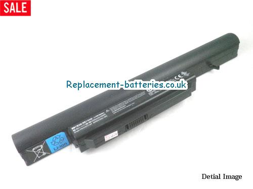 Gateway SQU-1002 laptop battery, 4400mah, 6cells in United Kingdom and Ireland