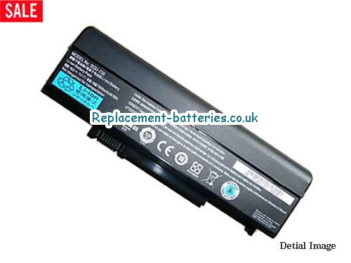 11.1V GATEWAY M-7301H Battery 7200mAh, 81Wh