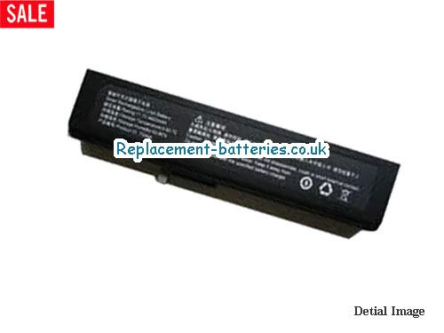Haier TS44A,H60S,W66 series Laptop Battery 4400MAH in United Kingdom and Ireland