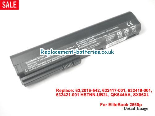 QK644AA Battery, 11.1V HP QK644AA Battery 5200mAh