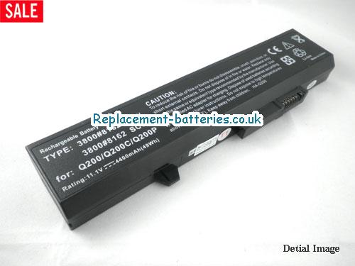 3715ED Battery, 11.1V AVERATEC 3715ED Battery 4400mAh