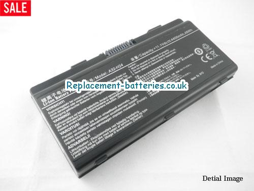 UK 4400mAh, 48Wh  Long life laptop battery for Founder T410TU, T410IU-T300AQ, A32-H24,