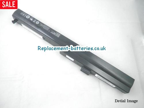 Hasee C42-4S2200-B1B1, C42-4S4400-B1B1, C42-4S2200-S1B1 laptop battery 2200mah 4cells in United Kingdom and Ireland