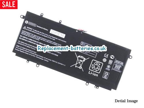 7.5V HP CHROMEBOOK 14-Q010NR Battery 51Wh