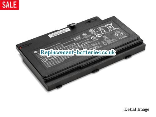 AA06XL Battery HSTNN-DB7L For HP ZBook 17 G4 Series Li-Polymer 96Wh in United Kingdom and Ireland