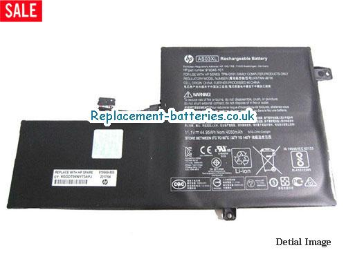 45Wh Genuine AS03XL Battery For Hp HSTNN-IB7W 918340-1C1  in United Kingdom and Ireland