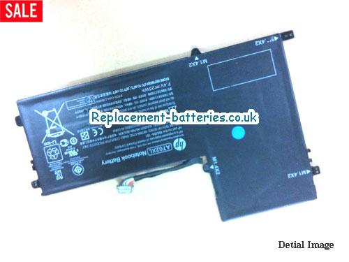 AT02XL Battery, 7.4V HP AT02XL Battery 25Wh