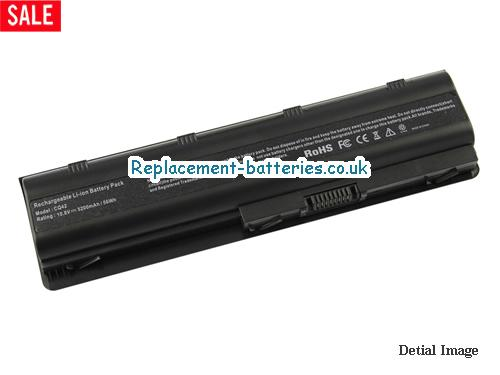 10.8V HP G62-B22SA Battery 5200mAh