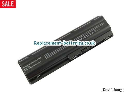 10.8V HP PAVILION DV3-4123TX Battery 7800mAh